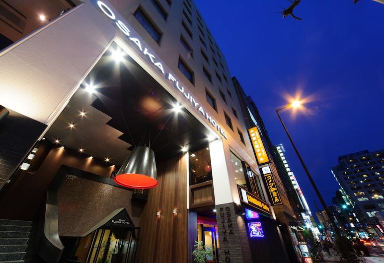 大阪富士屋ホテル, 大阪市, ホテルのフロント - 夕方 / 夜間