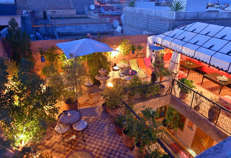 Riad Zayane Atlas, Marrakech, Terassi/patio