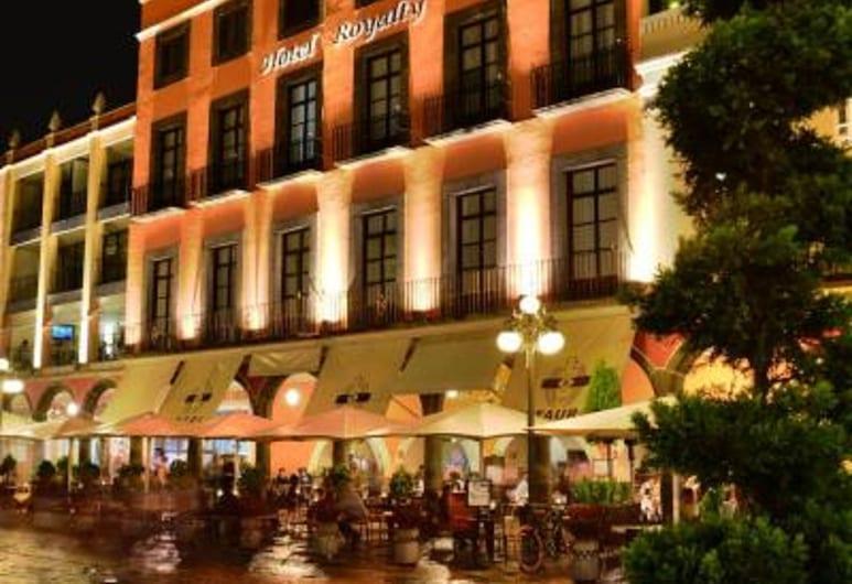 Hotel Royalty, Puebla, Voorkant hotel
