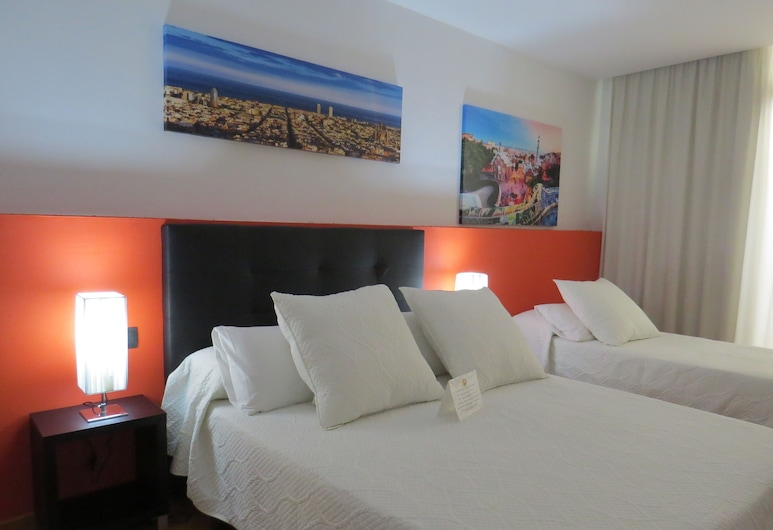 Barcelona City Centre, Barcelona, Double Room (with extra bed), Guest Room