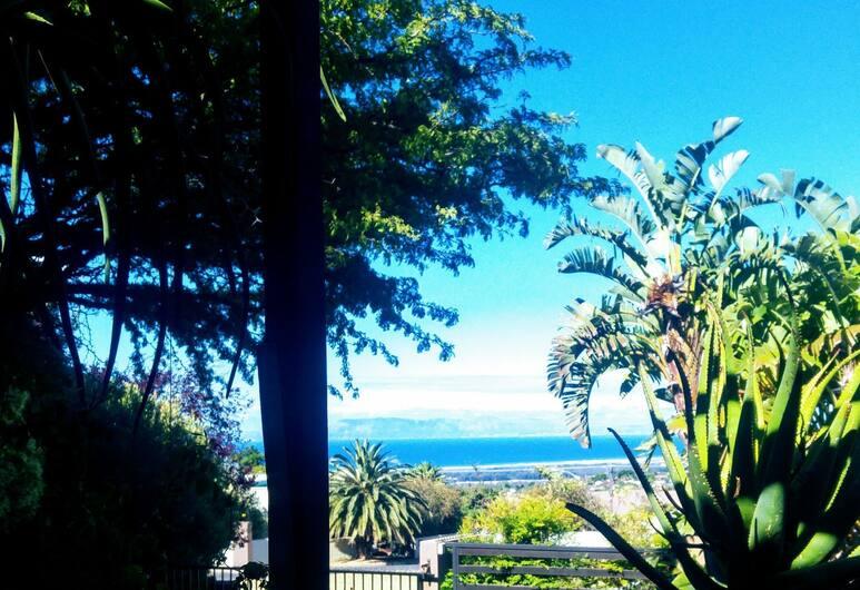 SW1 Lodge, Le Cap, Suite Luxe, 1 chambre, cheminée, vue mer, Vue depuis le balcon