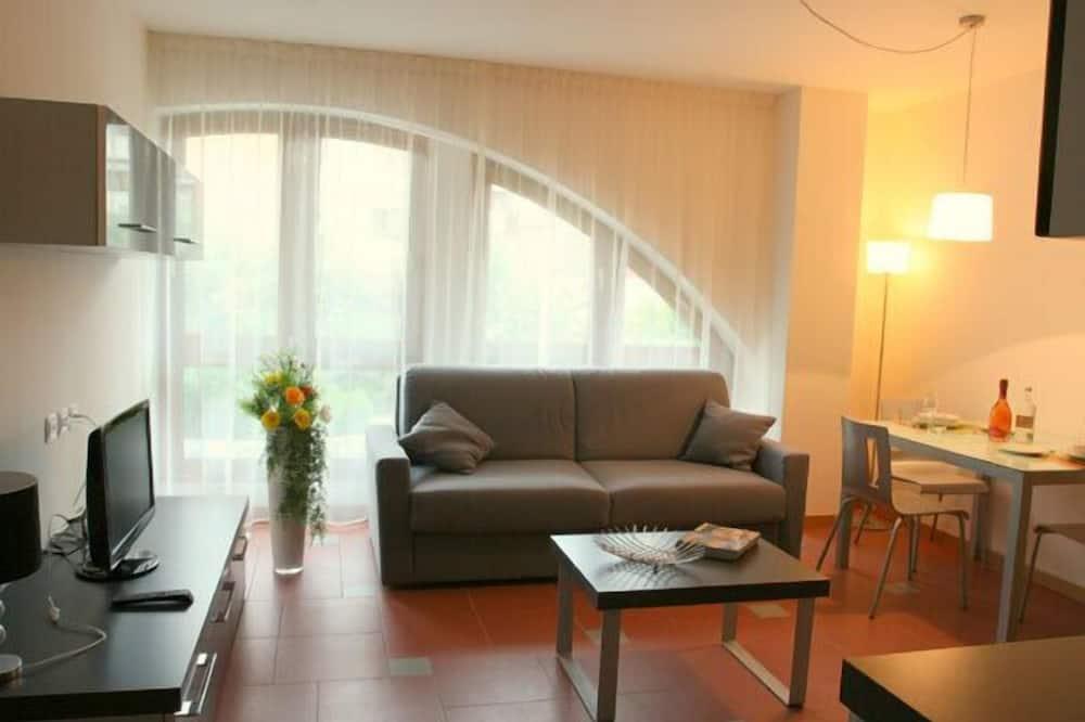 アパートメント ダブルベッド 1 台ソファーベッド付き 禁煙 - リビング エリア