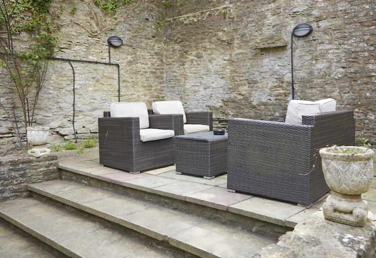 Woolpack Inn Beckington by Greene King Inns, Frome, Terrasse/patio