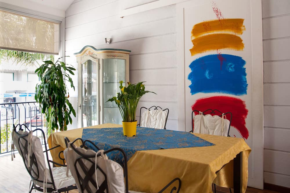 精緻公寓, 3 間臥室, 海景 - 客房餐飲服務