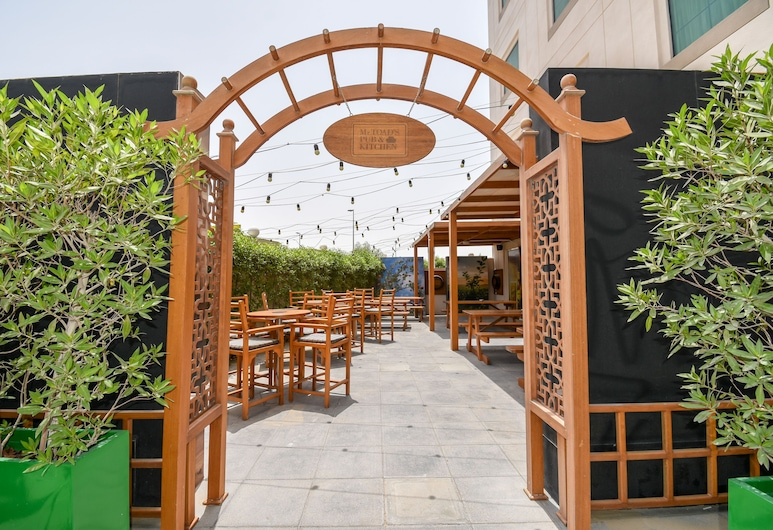 Premier Inn Dubai Investment Park, Dubajus, Terasa / vidinis kiemas