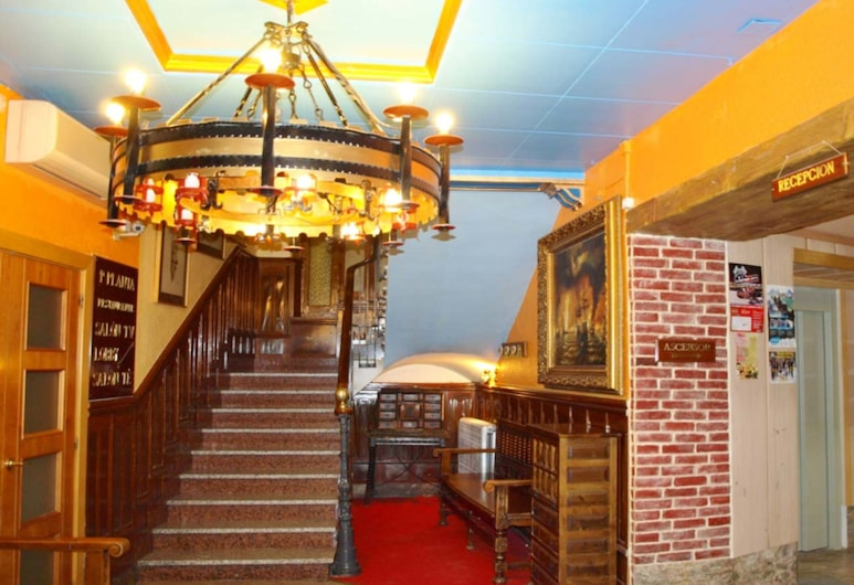 Hotel Mur, Jaca, Recepce