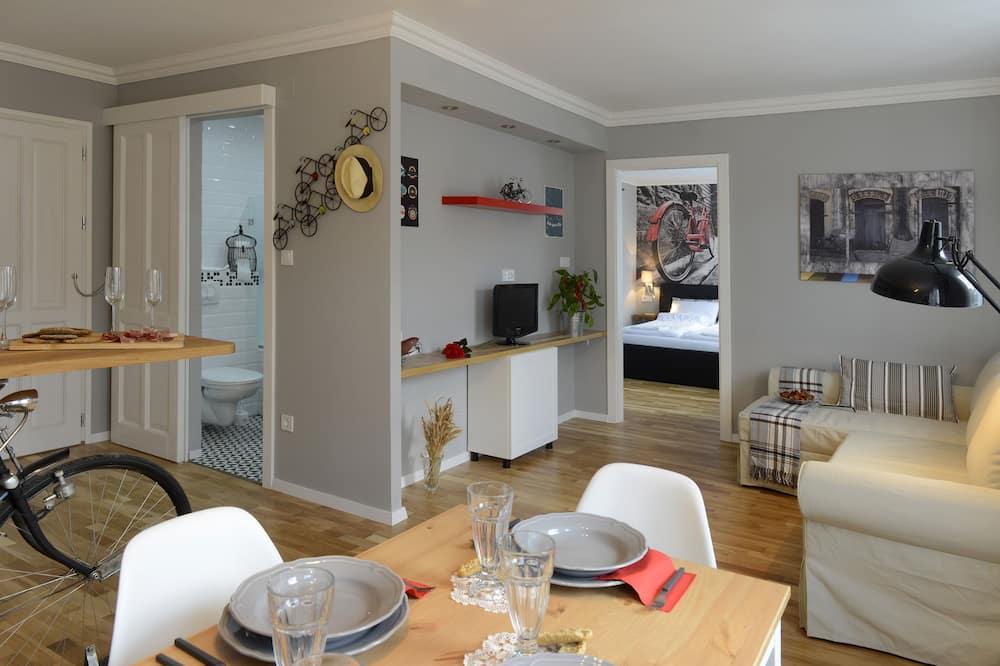 Bike Design Apartment - Oppholdsområde
