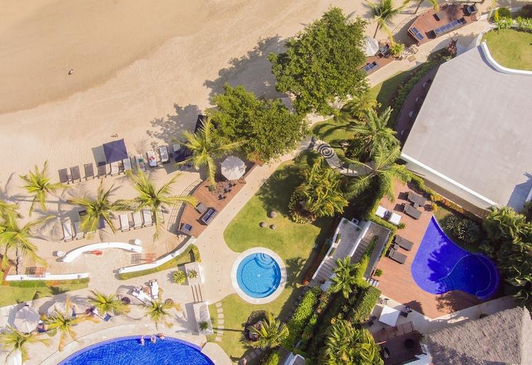 Vallarta Gardens Beach Front Hotel & Residences, La Cruz de Huanacaxtle, Kolam Renang Luar Ruangan