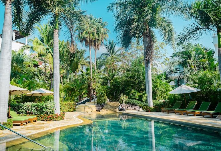 Vallarta Gardens Beach Front Hotel & Residences, La Cruz de Huanacaxtle, Venkovní bazén