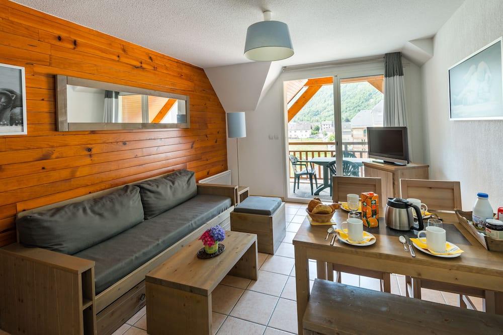 Appartamento con 2 camere per 6 (36) - Area soggiorno