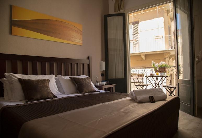 Al San Domenico Residence, Trapani, Appartamento Junior, balcone, Camera