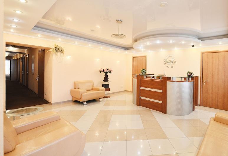 Gallery Hotel, Περμ, Λόμπι