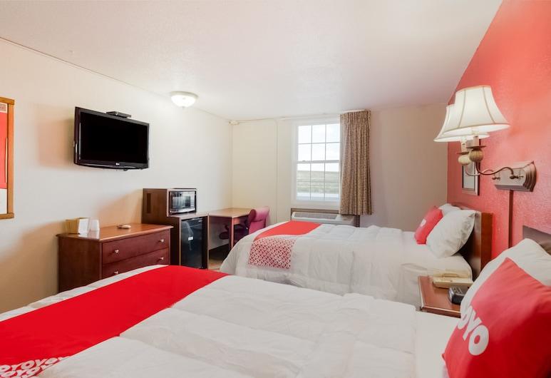 OYO Hotel Morton/Peoria IL I-74, Morton, Soba, 2 bračna kreveta, Soba za goste