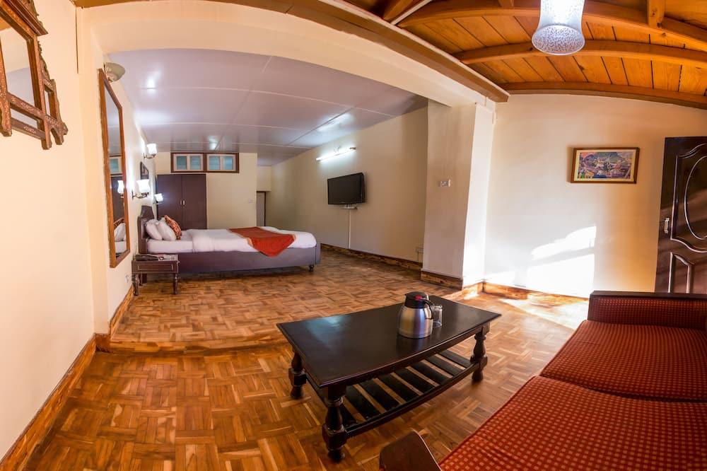 Superior tweepersoonskamer, 1 tweepersoonsbed, Balkon, uitzicht op tuin - Kamer