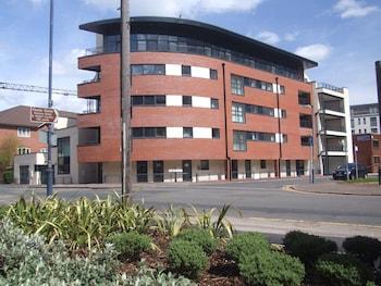 Mynd af Comfort Zone Parkside Apartment Hotel Birmingham í Birmingham