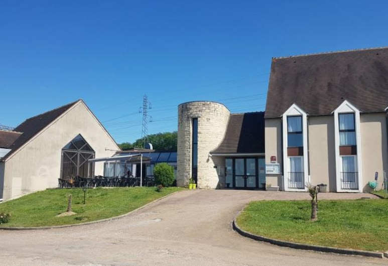 Auberge de Bourgogne, Tonnerre, Hótelframhlið