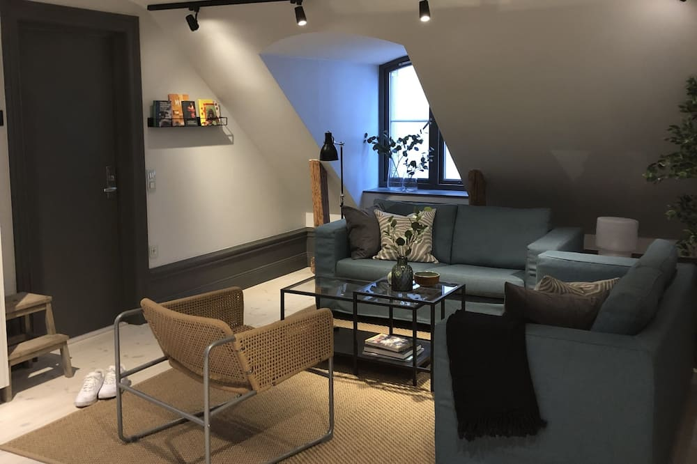 Suite, 4 habitaciones - Zona de estar