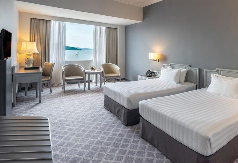 باي فيو هوتل, لانغكاوي, غرفة بريمير - سريران فرديان منفصلان - بإمكانية الدخول لصالة الأعمال - بمنظر للبحر, غرفة نزلاء