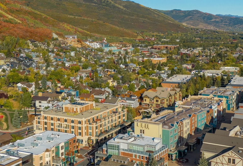 The Caledonian by All Seasons Resort Lodging, Park City, Blick auf die Stadt