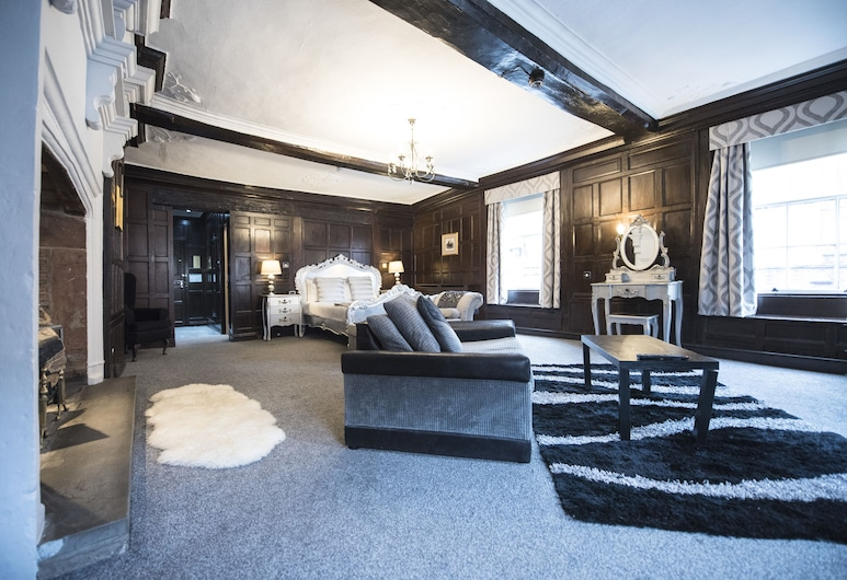The Pied Bull, Chester, Luxury Double Room, Guest Room
