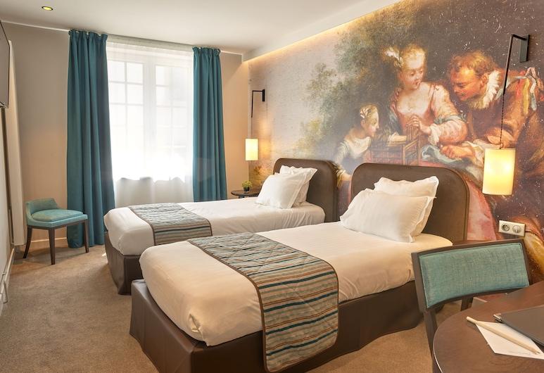 Hotel De Guise, Nancy, Classic-værelse med 2 enkeltsenge - 2 enkeltsenge, Værelse