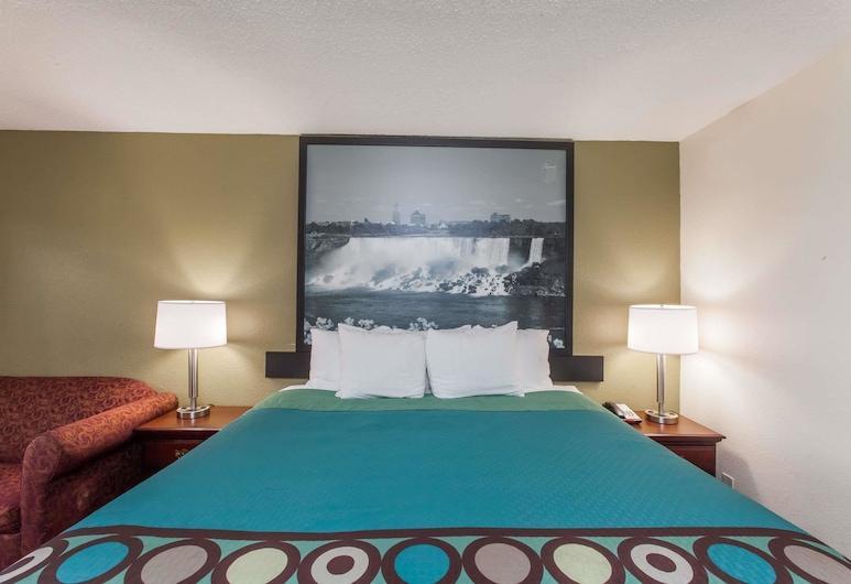 Super 8 by Wyndham Hamburg, Hamburg, Habitación estándar, 1 cama King size, para fumadores, Habitación