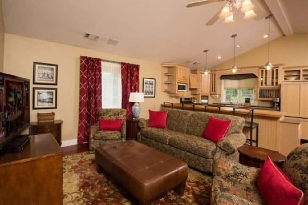 客房, 私人浴室 (#33 Poplar Suite) - 客廳