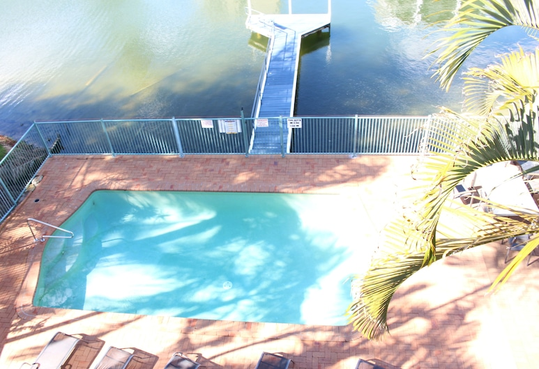 Surfers Riverside Apartments, Surfers Paradise, 2 Bedroom Riverview Apartment, View from room
