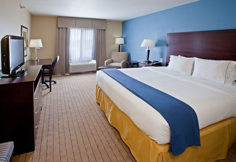 Holiday Inn Express Hotel & Suites Shelbyville Indianapolis, שלביוויל, חדר אורחים