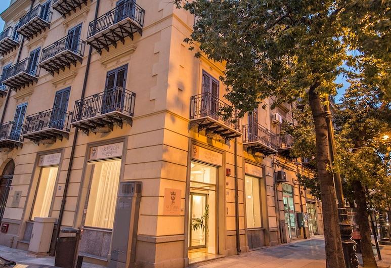 Artemisia Palace Hotel, Palermo, Fachada del hotel