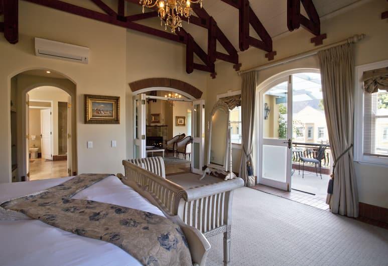 Franschhoek Country House and Villas, Franschhoek, Villa Suite, Guest Room