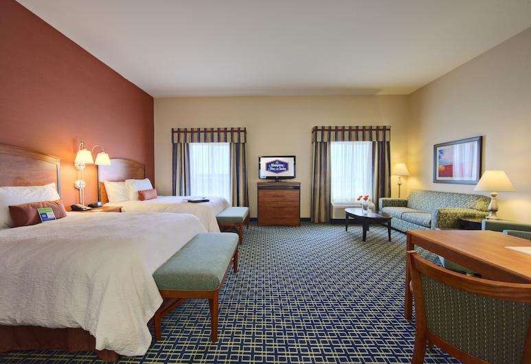 Hampton Inn and Suites Ridgecrest, Ridgecrest, Quarto, 2 camas queen-size, Quarto