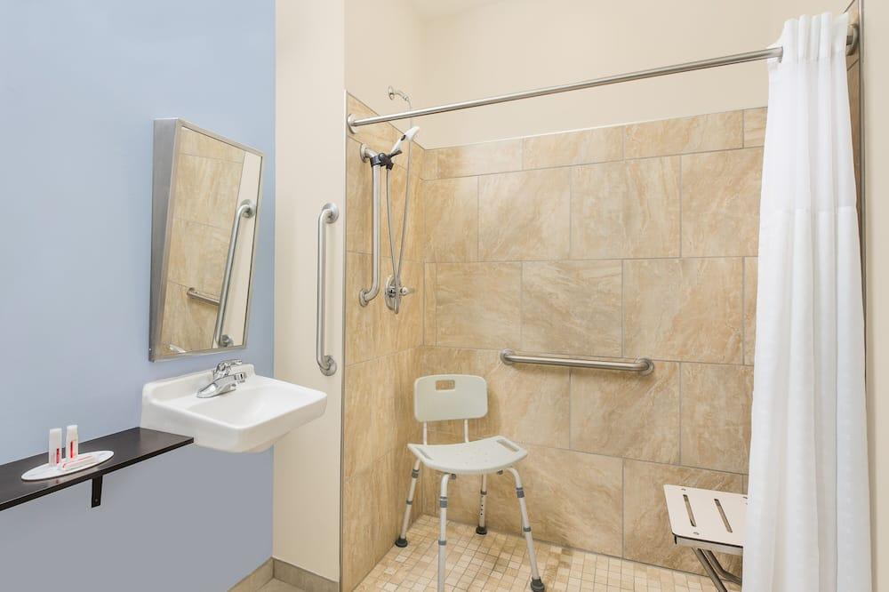 套房, 1 張加大雙人床, 無障礙, 非吸煙房 (Mobility Accessible) - 浴室