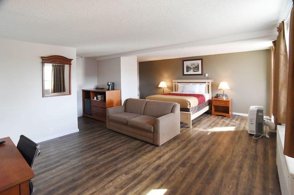 غرفة عادية - سرير كبير مع أريكة سرير - لغير المدخنين - غرفة نزلاء