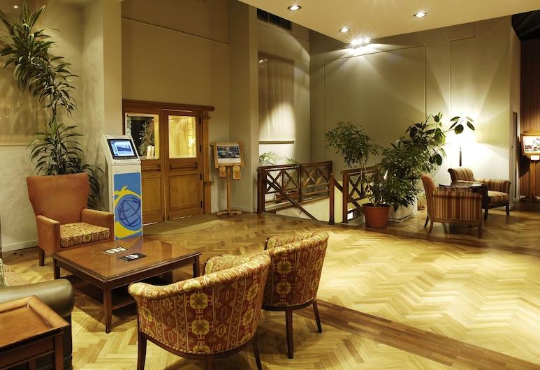 Albatros Hotel, Ushuaia, Siddeområde i lobby