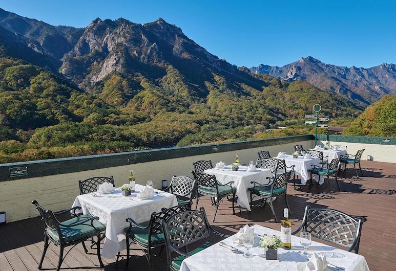 肯辛頓索拉克飯店, 束草, 室外用餐