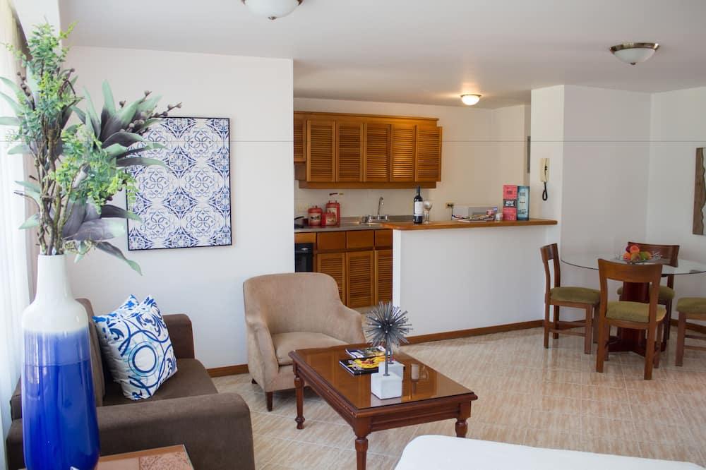 Apartamento estándar - Sala de estar