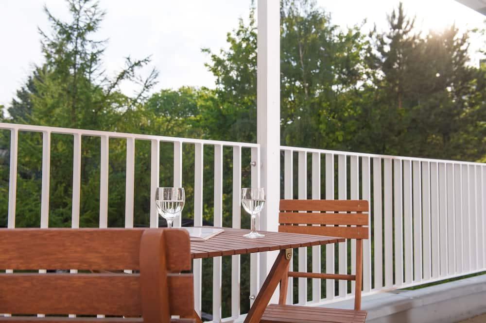 Номер, з балконом, з видом на сад - Балкон