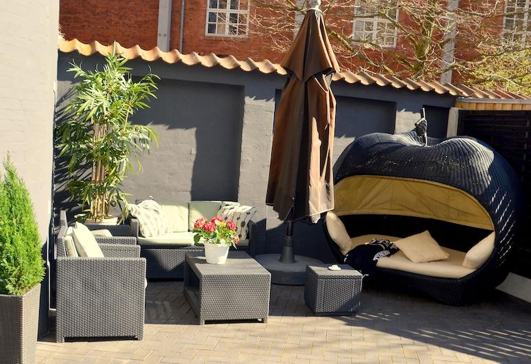 Milling Hotel Mini 11, Odense, Terrasse/patio