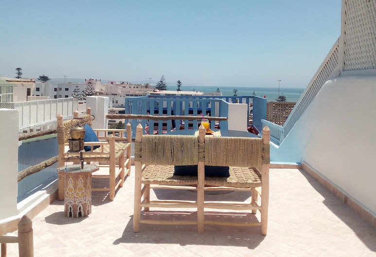Riad Etoile de Mogador, Essaouira, Terrasse/Patio