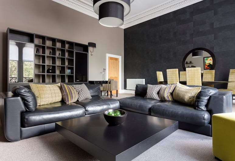 The Chester Residence, Edinburgh, Grand Apartment, Living Area
