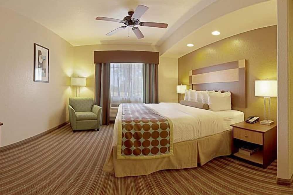 ห้องสแตนดาร์ด, เตียงคิงไซส์ 1 เตียง, พร้อมสิ่งอำนวยความสะดวกสำหรับผู้พิการ, อ่างอาบน้ำ - พื้นที่นั่งเล่น