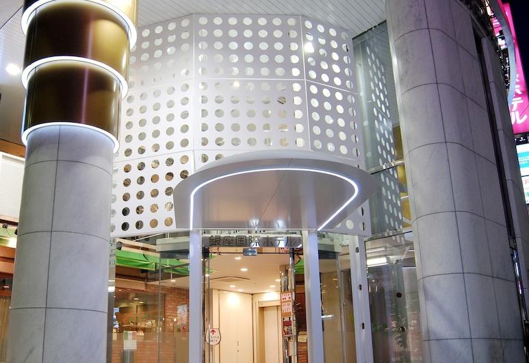銀座國際飯店, 東京, 飯店入口 - 夜景