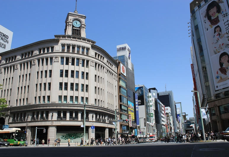 Ginza International Hotel, Tokyo, Exterior