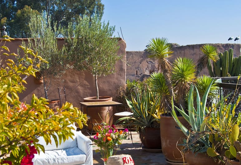 Riad Aladdin, Marrakech, Taras/patio