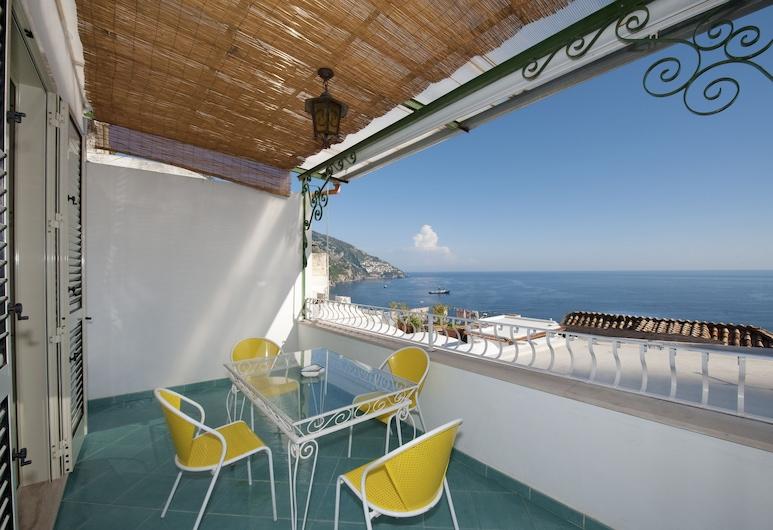 Casa Teresa, Positano, Suite, Vista Mar, Edifício Anexo, Vista do Quarto