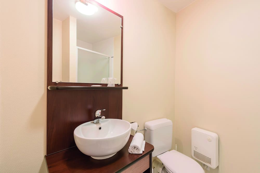 Studio, 2Einzelbetten - Badezimmer