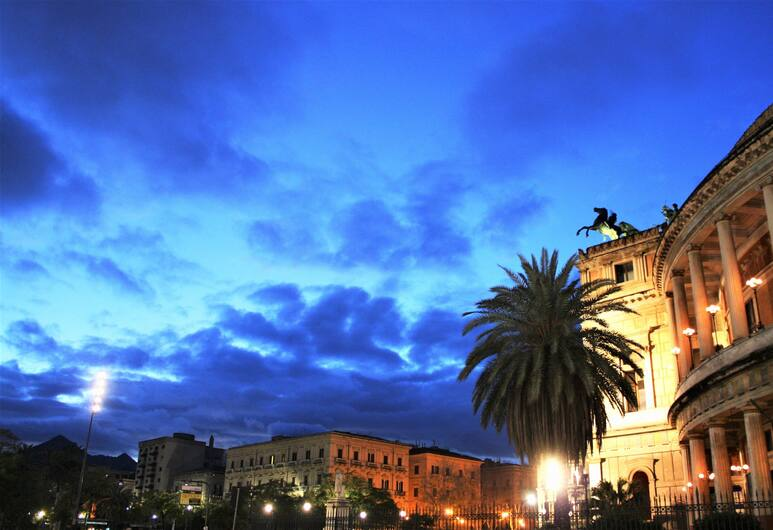 Locanda del Gagini, Palerme, Vue depuis l'hôtel