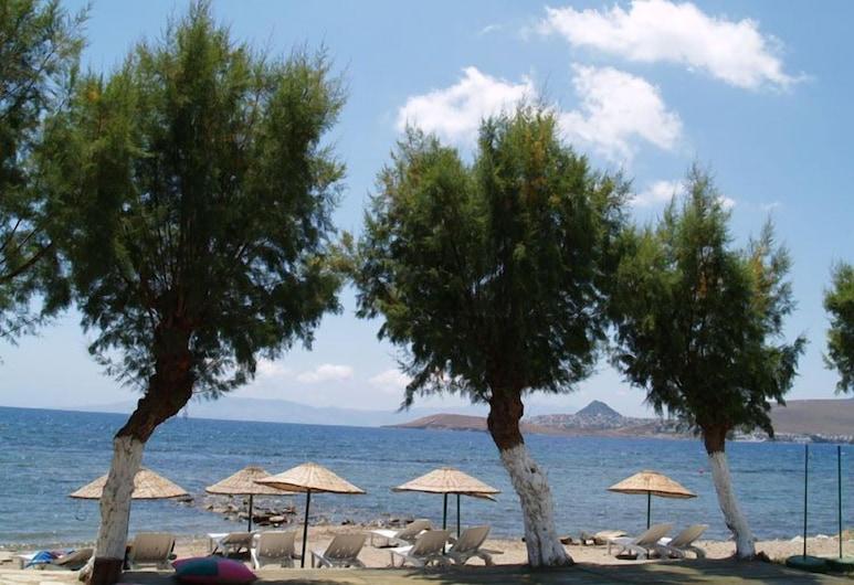 Yilmaz Hotel, Bodrum, Pláž