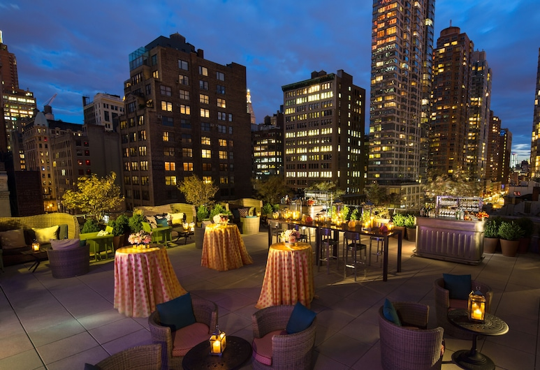 Kimpton Hotel Eventi, Nova York, Terraço/pátio